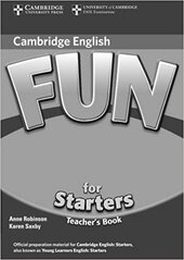Fun for 2nd Edition Starters Teacher's Book - фото обкладинки книги