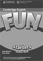 Книга для вчителя Fun for 2nd Edition Starters Teacher's Book