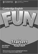 Книга для вчителя Fun for 2nd Edition Starters Teacher's Book