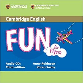 Fun for Flyers 3rd Edition Audio CDs (2) - фото книги