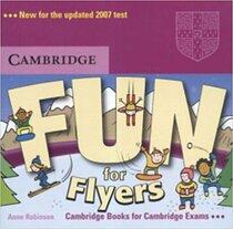 Підручник Fun for Flyers Audio CD