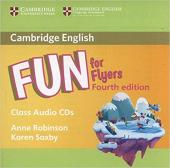 Fun for Flyers Class Audio CDs (2) - фото обкладинки книги