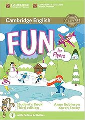 Fun for Flyers Student's Book with Audio with Online Activities - фото обкладинки книги