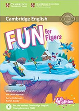 Fun for Flyers Student's Book with Online Activities with Audio - фото книги