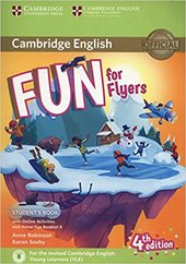 Fun for Flyers Student's Book with Online Activities with Audio and Home Fun Booklet 6 - фото обкладинки книги
