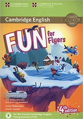 Fun for Flyers Student's Book with Online Activities with Audio and Home Fun Booklet 6 - фото книги