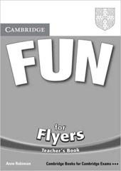 Fun for Flyers Teacher's Book - фото обкладинки книги