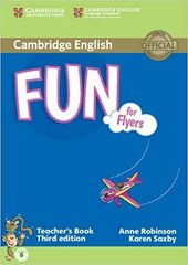 Fun for Flyers Teacher's Book with Audio - фото обкладинки книги