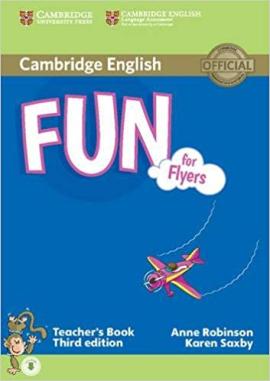 Книга для вчителя Fun for Flyers Teacher's Book with Audio