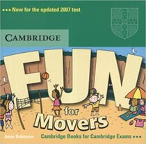 Аудіодиск Fun for Movers Audio CD