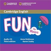 Підручник Fun for Movers Audio CD