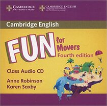 Книга для вчителя Fun for Movers Class Audio CD