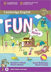 Fun for Movers Student's Book with Audio with Online Activities - фото обкладинки книги