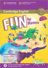 Fun for Movers Student's Book with Home Fun Booklet 4 (Fourth Edition) with online activities - фото обкладинки книги