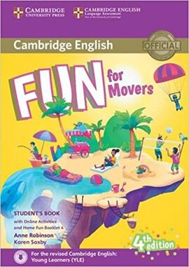 Fun for Movers Student's Book with Home Fun Booklet 4 (Fourth Edition) with online activities - фото книги