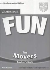 Fun for Movers Teacher's Book - фото обкладинки книги