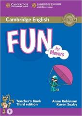 Fun for Movers Teacher's Book with Audio - фото обкладинки книги