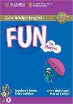 Книга для вчителя Fun for Movers Teacher's Book with Audio