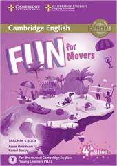 Fun for Movers Teacher's Book with Downloadable Audio - фото обкладинки книги