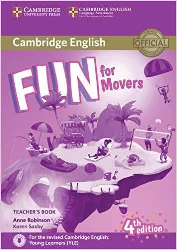 Книга для вчителя Fun for Movers Teacher's Book with Downloadable Audio