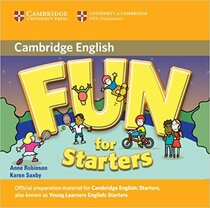 Книга для вчителя Fun for Starters Audio CD