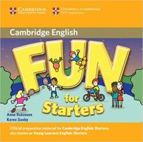 Книга для вчителя Fun for Starters Audio CD