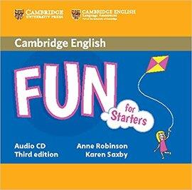 Аудіодиск Fun for Starters Audio CD