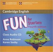 Fun for Starters Class Audio CD - фото обкладинки книги