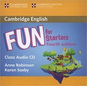 Книга для вчителя Fun for Starters Class Audio CD