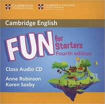 Аудіодиск Fun for Starters Class Audio CD