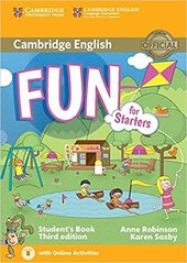 Fun for Starters Student's Book with Audio with Online Activities - фото обкладинки книги