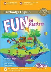 Аудіодиск Fun for Starters Student's Book with Online Activities with Audio