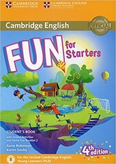 Fun for Starters Student's Book with Online Activities with Audio and Home Fun Booklet 2 - фото обкладинки книги