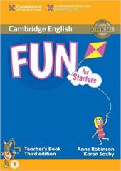 Fun for Starters Teacher's Book with Audio - фото обкладинки книги