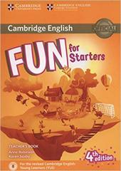 Fun for Starters Teacher's Book with Downloadable Audio - фото обкладинки книги