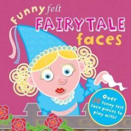 Funny Felt Fairytale Faces - фото книги