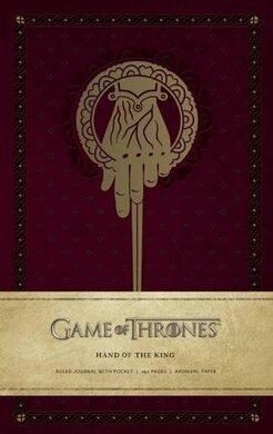 Game of Thrones: Hand of the King. Ruled Journal - фото книги