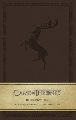 Game of Thrones: House Baratheon Hardcover Ruled Journal - фото книги