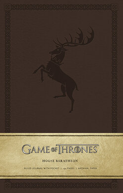 Game of Thrones: House Baratheon Hardcover Ruled Journal - фото книги