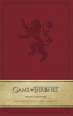 Game of Thrones: House Lannister. Ruled Journal - фото книги