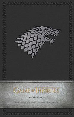 Game of Thrones: House Stark. Ruled Journal - фото книги