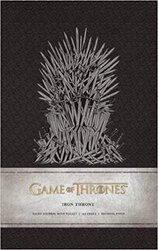 Game of Thrones: Iron Throne Hardcover Ruled Journal - фото обкладинки книги