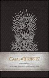 Game of Thrones: Iron Throne Hardcover Ruled Journal - фото обкладинки книги