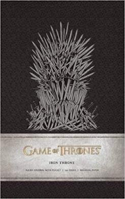 Game of Thrones: Iron Throne Hardcover Ruled Journal - фото книги