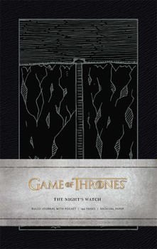 Game of Thrones: The Night's Watch Hardcover Ruled Journal - фото книги