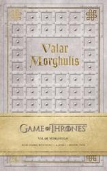 Game of Thrones: Valar Morghulis Hardcover Ruled Journal - фото обкладинки книги