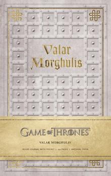 Game of Thrones: Valar Morghulis Hardcover Ruled Journal - фото книги