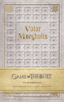 Game of Thrones: Valar Morghulis Hardcover Ruled Journal - фото книги