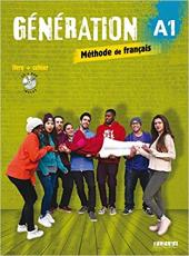 Generation A1. Livre + Cahier + CD mp3 + DVD (підручник + робочий зошит) - фото обкладинки книги