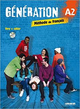 Generation A2. Livre + Cahier + CD mp3 + DVD (підручник + робочий зошит) - фото книги